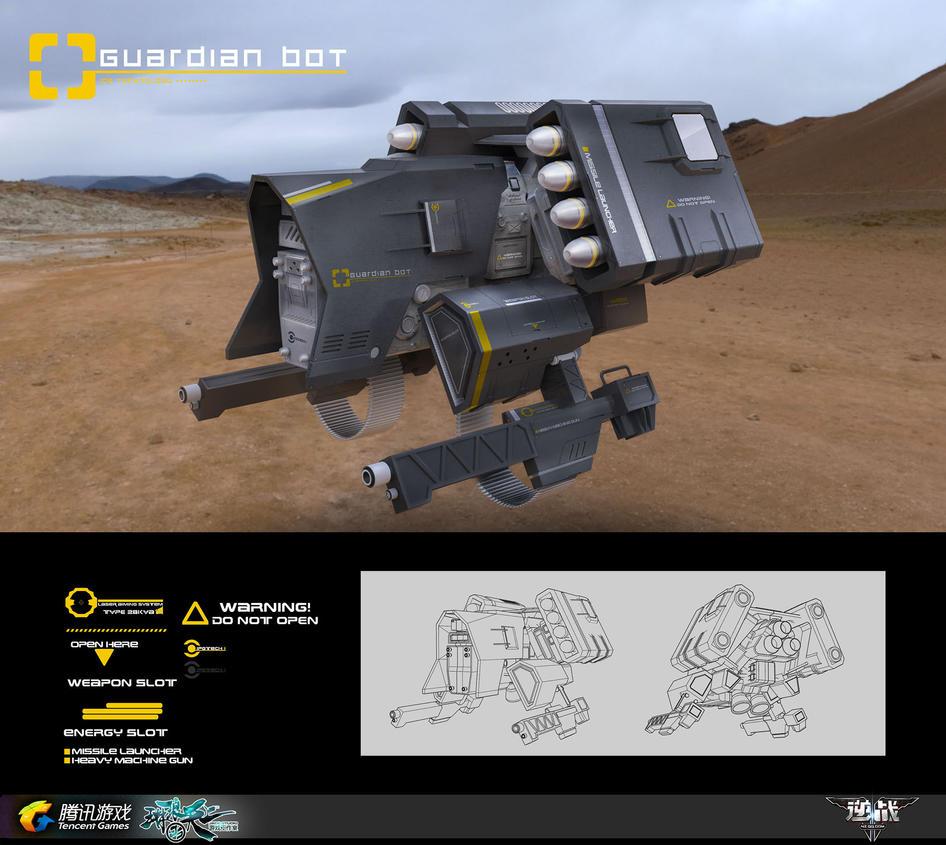 NZ_GuardianBot by liuyangart