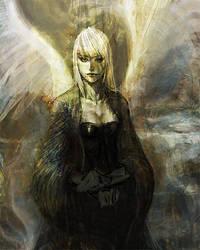 Wingless by liuyangart