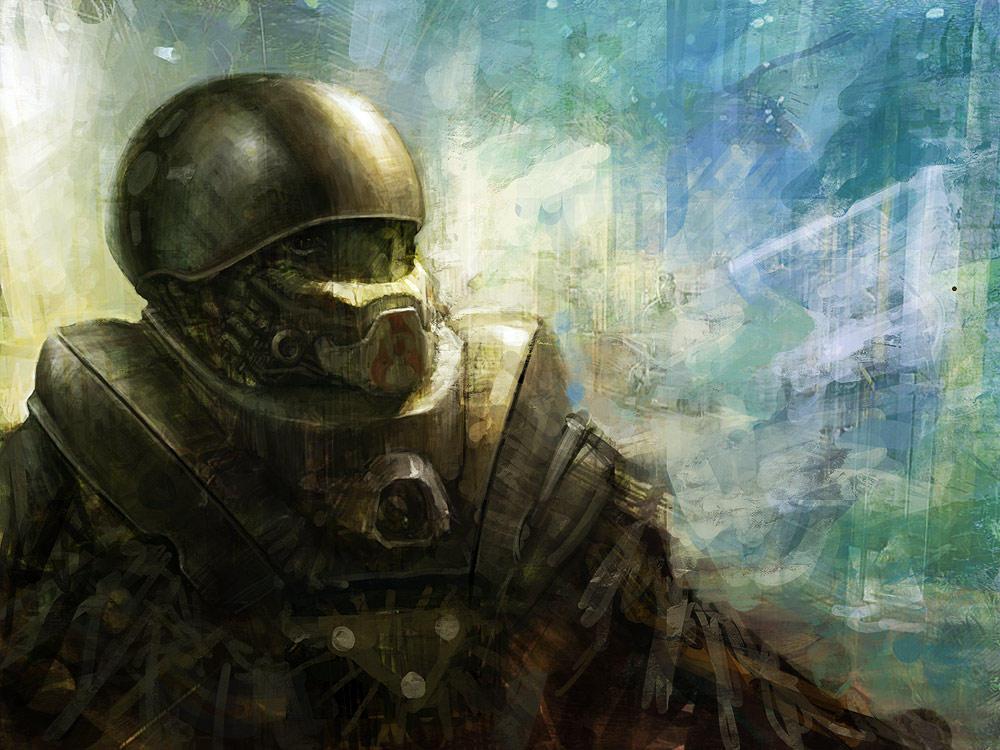 soldier by liuyangart