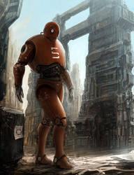 walking robot by liuyangart