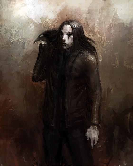 The Crow by liuyangart