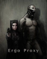 Ergo Proxy by liuyangart