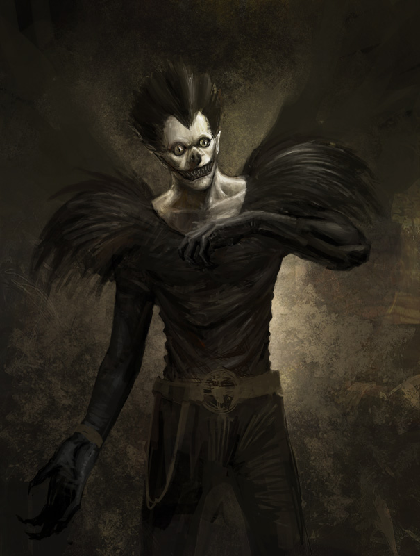 ryuk wallpaper. ryuk by ~poisondlo on