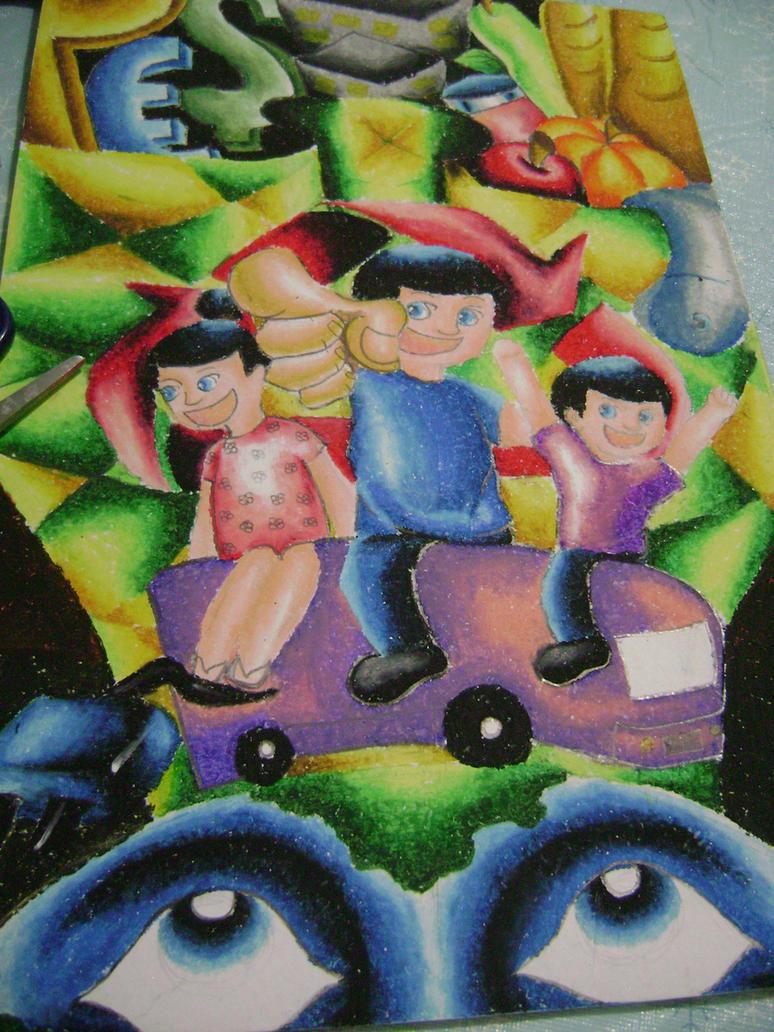 Sining Kalikasan Poster Making Contest by Camille04