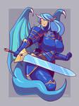 Dragon Knight Dee by Blazbaros