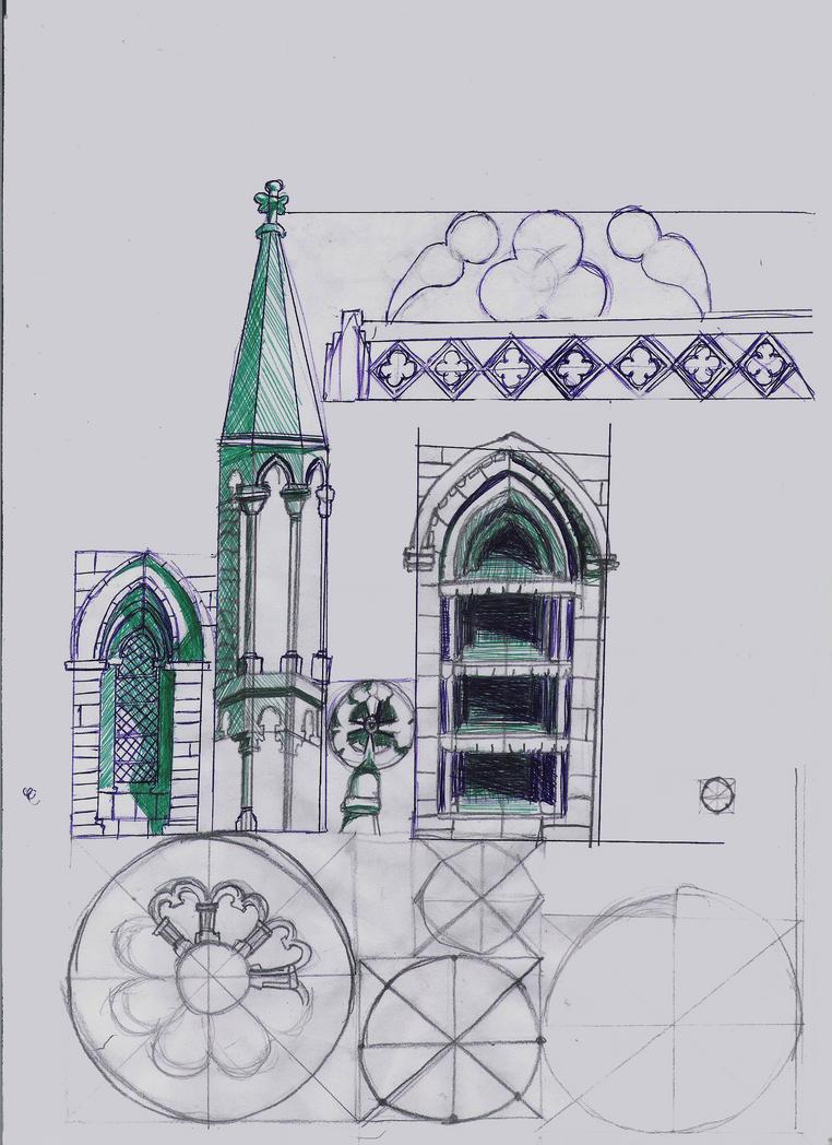 Gothic Architecture 1 by Otamineko on DeviantArt