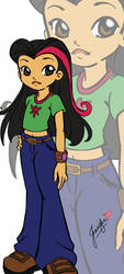Anime Juniper Lee - Colored by SirDread