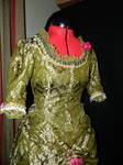 Silk Victorian Morning Dress