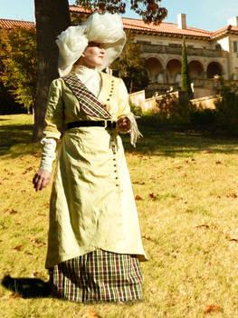 Edwardian Dress based on 1912 engraving