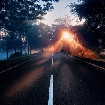 Morning rays by BlasphemedSoldier