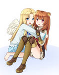 Raphtalia And Filo