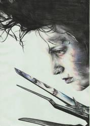Edward Scissorhands by Epileptic-Zombie