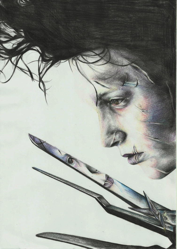 Edward Scissorhands by Epileptic-Zombie