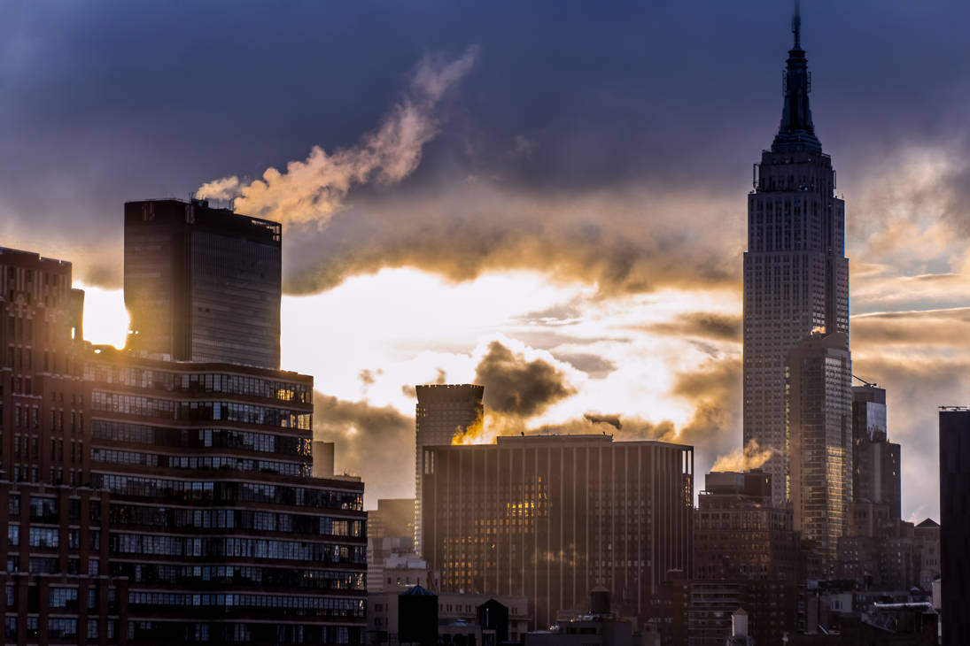 New York - Midtown - Empire State Building by ixtank