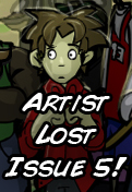 Artist Lost Issue 5 by LordJay