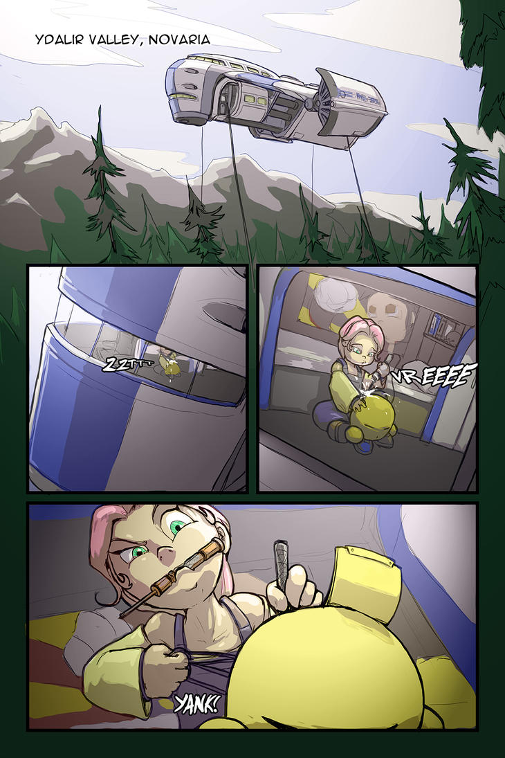 A Girl and Her Droid Page 01 by LordJay