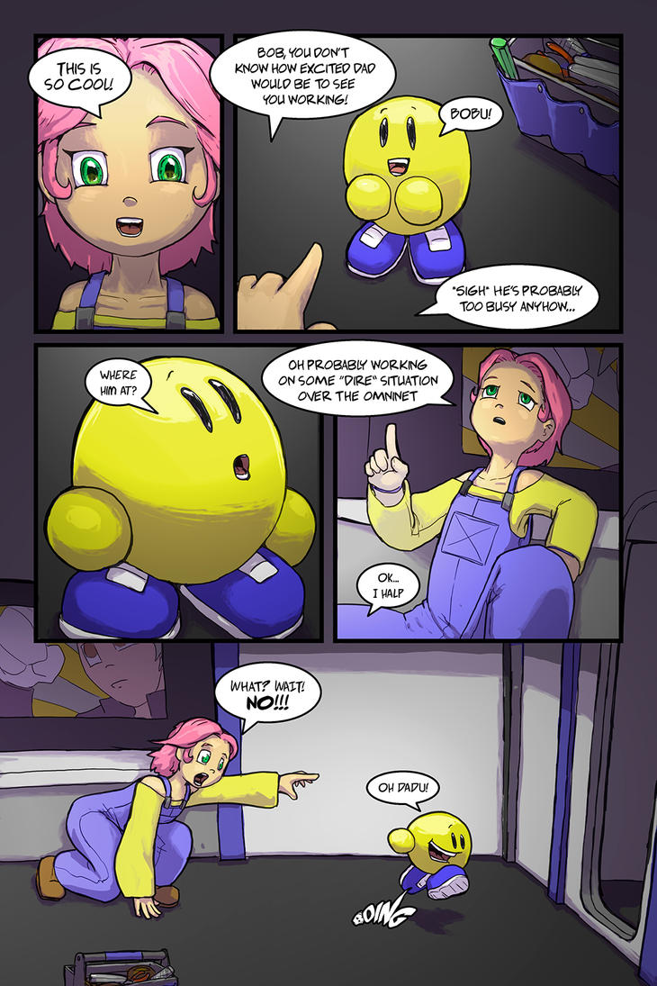 A Girl and Her Droid Page 03 by LordJay
