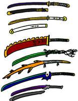 Hirobi's Swords by Sekitonbo