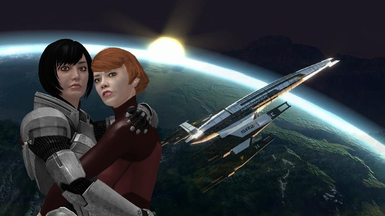 MASS EFFECT: PARAMOUR Preview By CharlesWS On DeviantArt