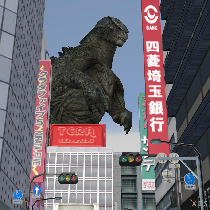 Welcome Home, Godzilla by CharlesWS