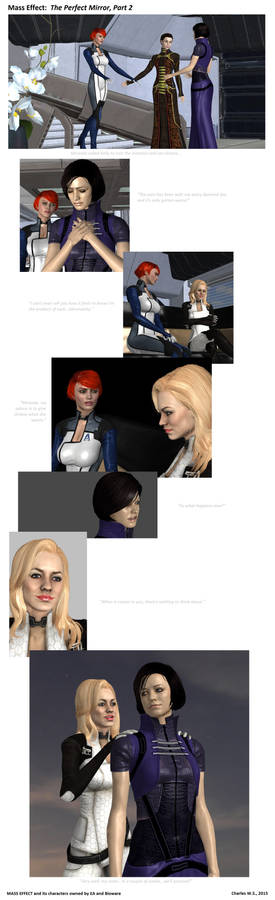 Mass Effect:  The Perfect Mirror, Part Two
