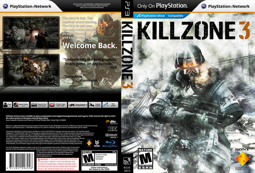 Killzone 3 by Aaron-A-Arts