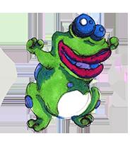 Strange toad by akelliona
