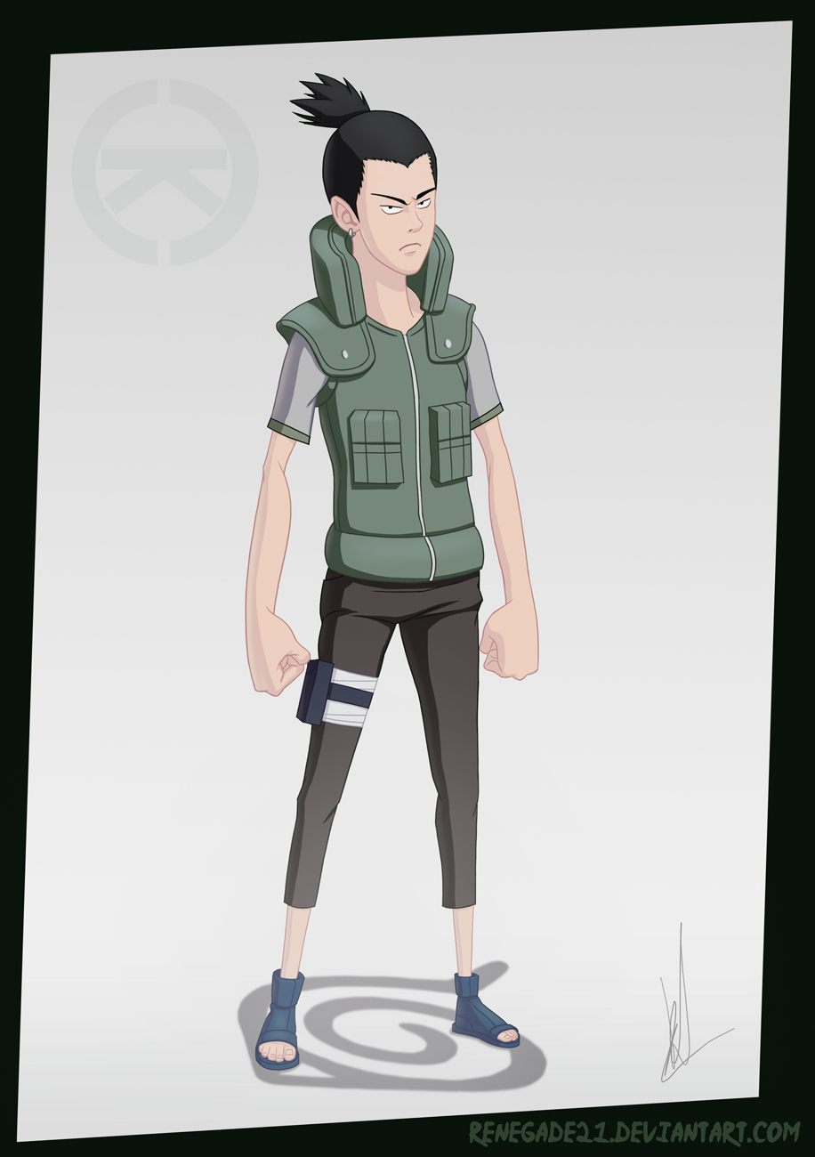 Shikamaru by renegade21