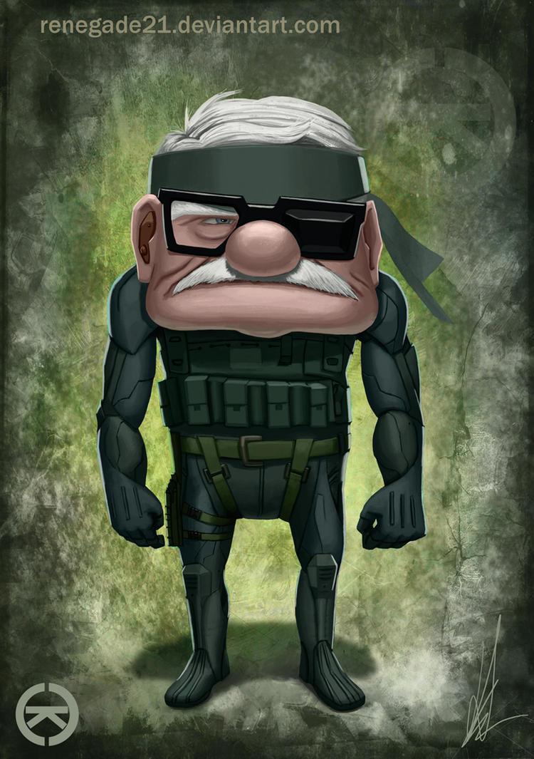 Metal Gear Up by renegade21