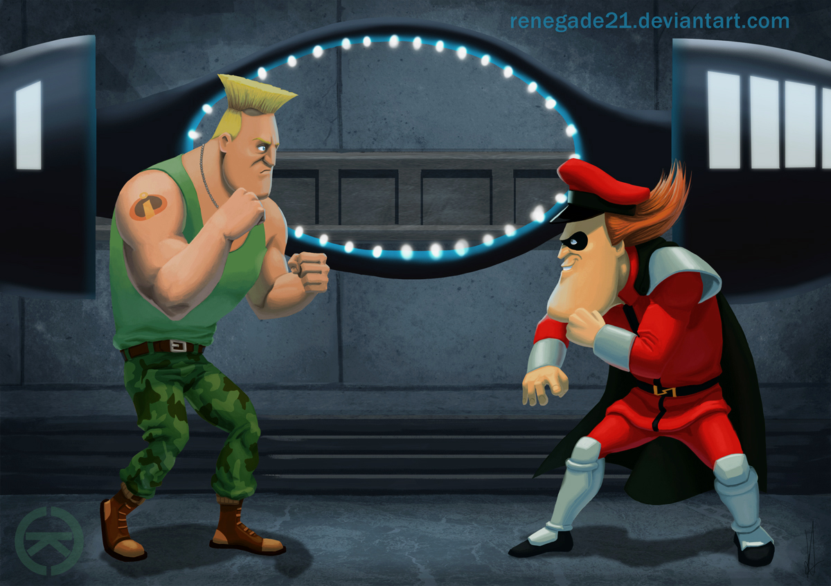 Incredible Street Fighter by renegade21