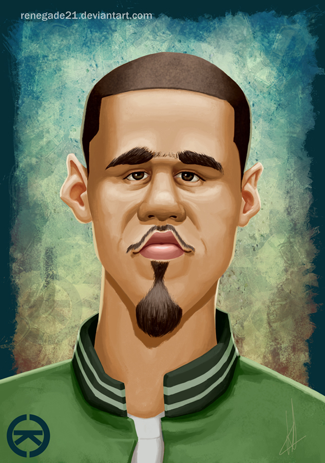 J. Cole by renegade21