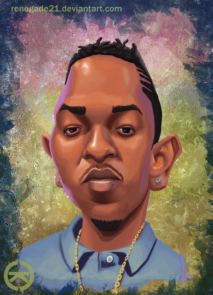 Kendrick Lamar by renegade21