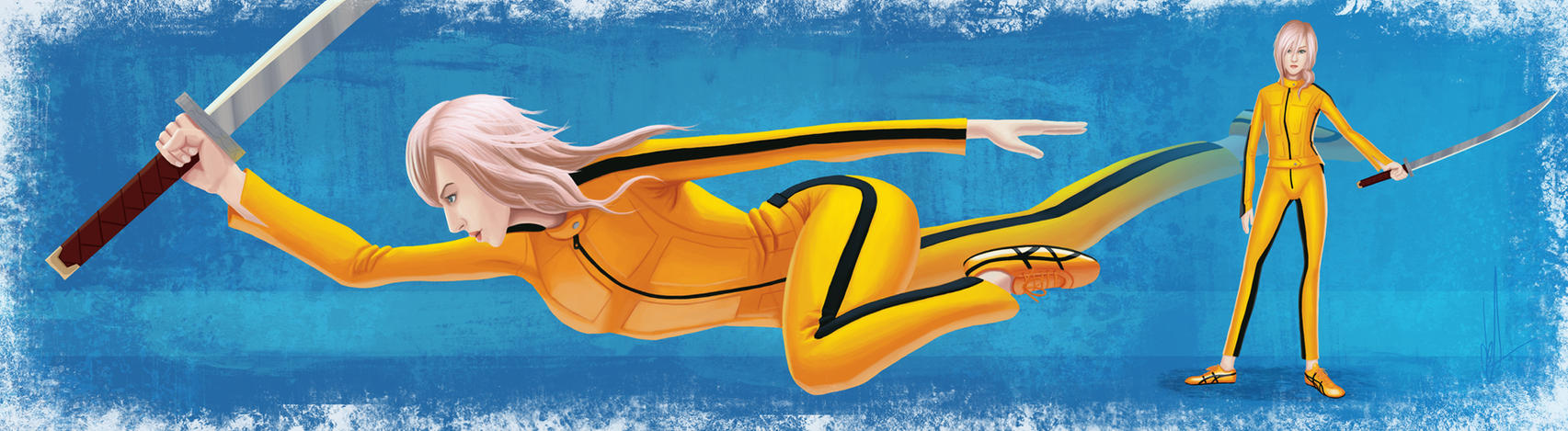Yellow Lightning by renegade21