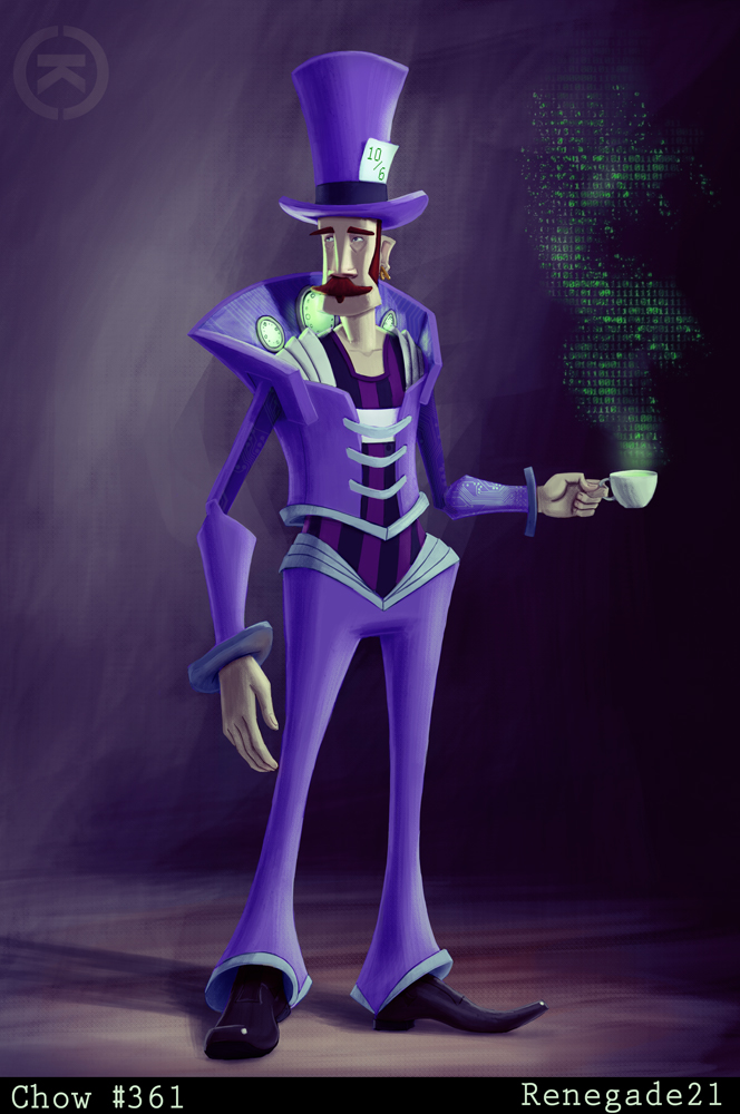 Sci-Fi Mad Hatter by renegade21