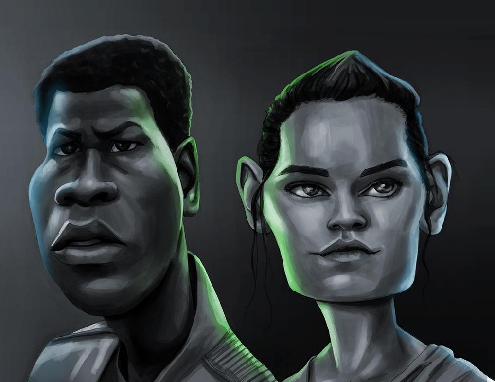 Star wars Force awakens by renegade21