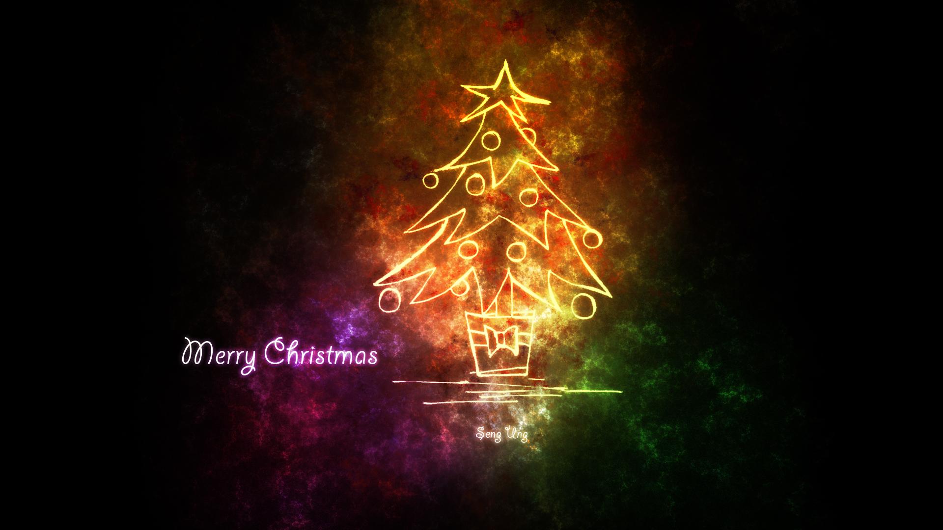 merry christmas 1080p wallpaperdrkzin on deviantart