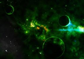 Planetary Flare by drkzin