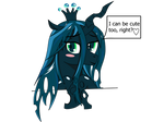 Queen Chrysalis ask you a question