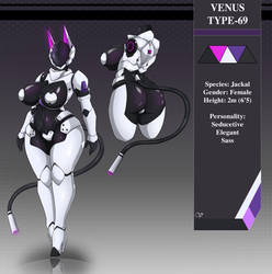 Model Sheet: Venus type-69 (2019) by ZzVinniezZ