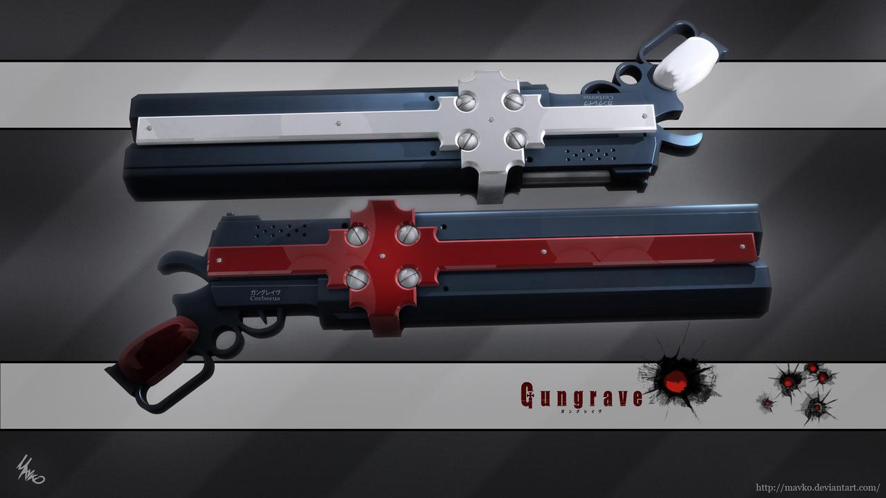Gungrave Cerberus by Mavko on DeviantArt Gungrave Cerberus Guns