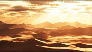 The Scorching Desert Sun