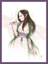 Lady Dragonfly by dark777fairy