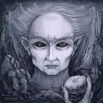 Winter Crone by dark777fairy