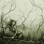 Marsh Fae by dark777fairy