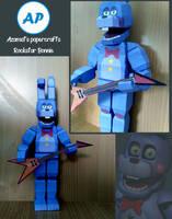 Rockstar Bonnie papercraft
