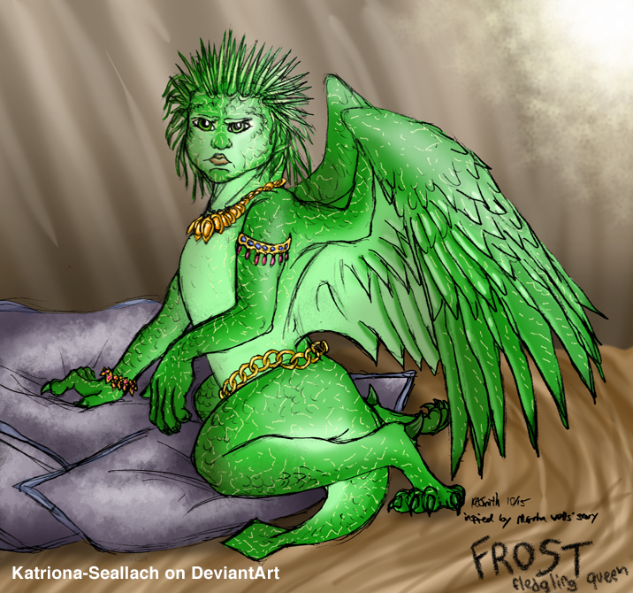 Frost -- Fledgling Raksuran Queen by Katriona-Seallach