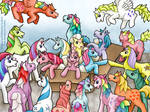 unboxing ponies -- welcome to the herd