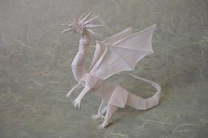 Western Dragon ver. 2 by origami-artist-galen