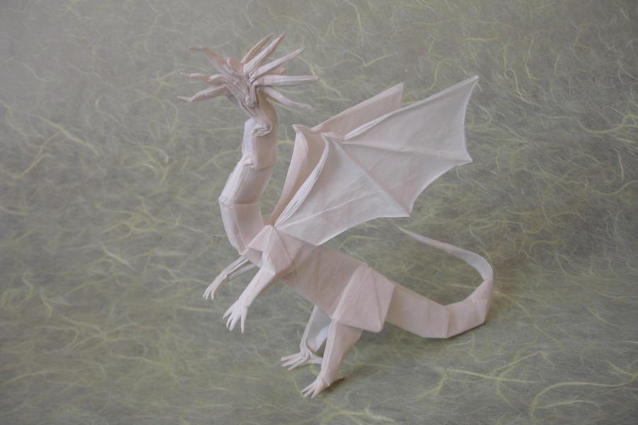Western Dragon Ver 2 By Origami Artist Galen