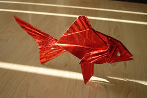 Goldfish by origami-artist-galen